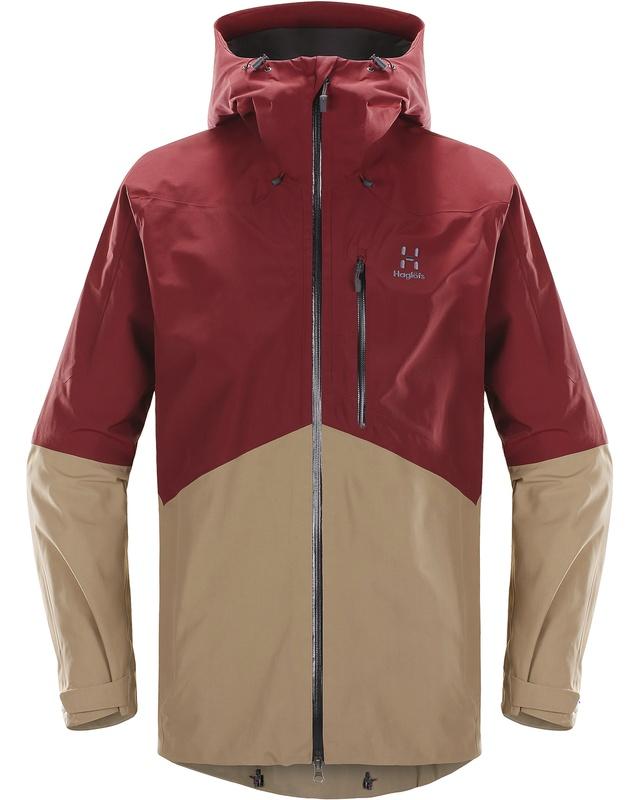 Haglofs Nengal Jacket Men Dark Ruby/Oak-30