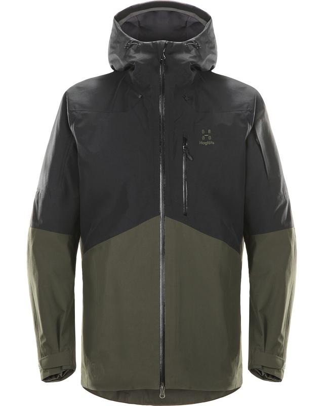 Haglofs Nengal Jacket Men True Black/Deep Wood-30
