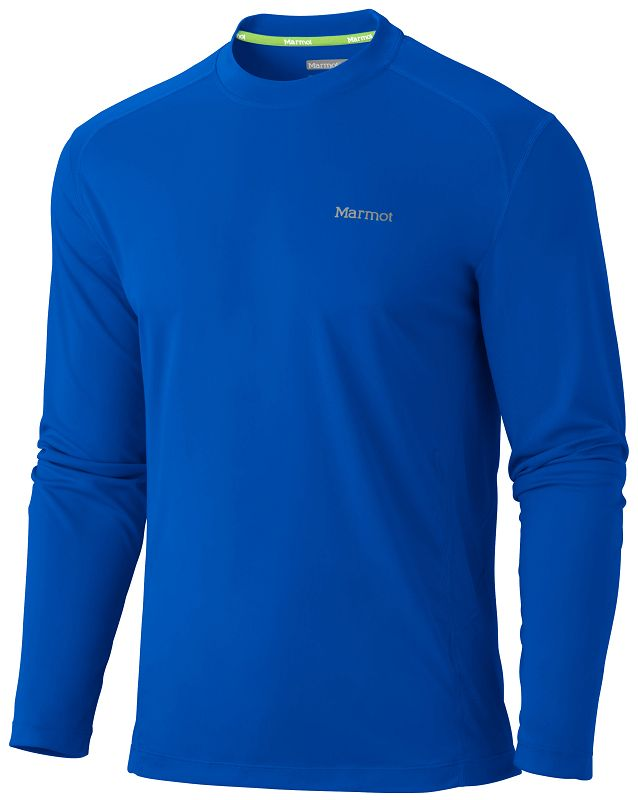 Marmot Windridge LS Dark Azure-30