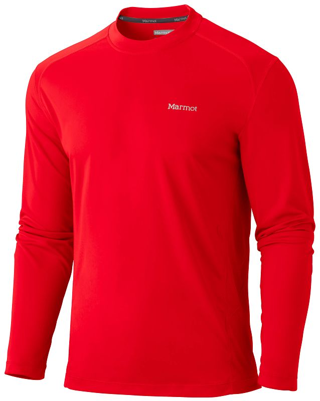 Marmot Windridge LS Team Red-30
