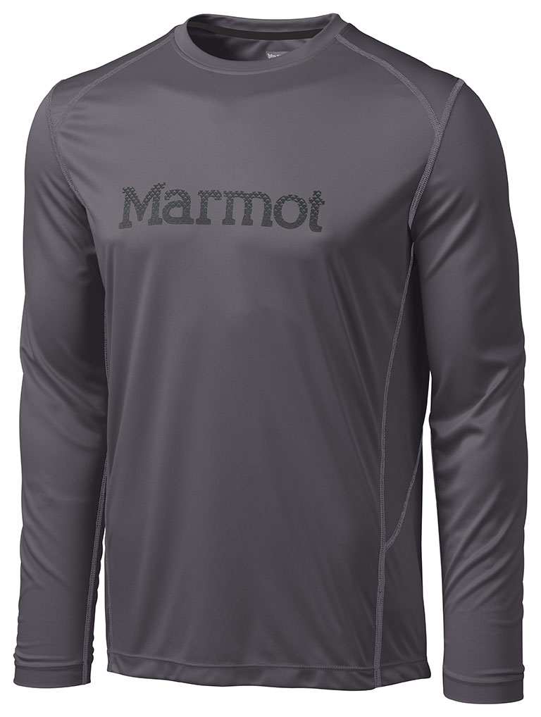 Marmot Windridge with Graphic LS Slate Grey/Black-30