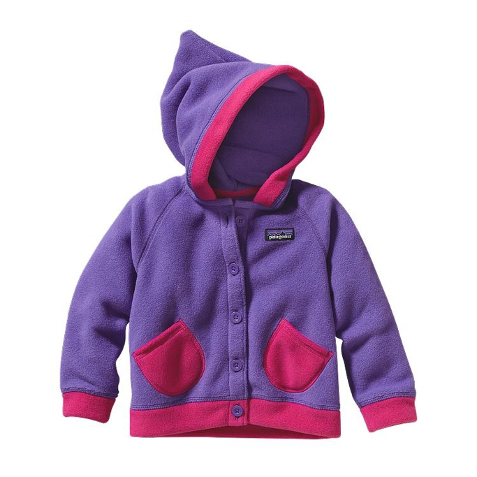 Patagonia - Baby Swirly Top Jacket Violetti - Isolation & Winter Jackets - 12M