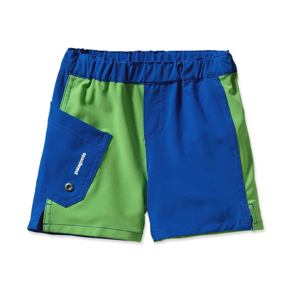 "Patagonia - Baby Meridian Board Shorts - 4 Inch Viking Blue - Shorts - 3M – 4"""
