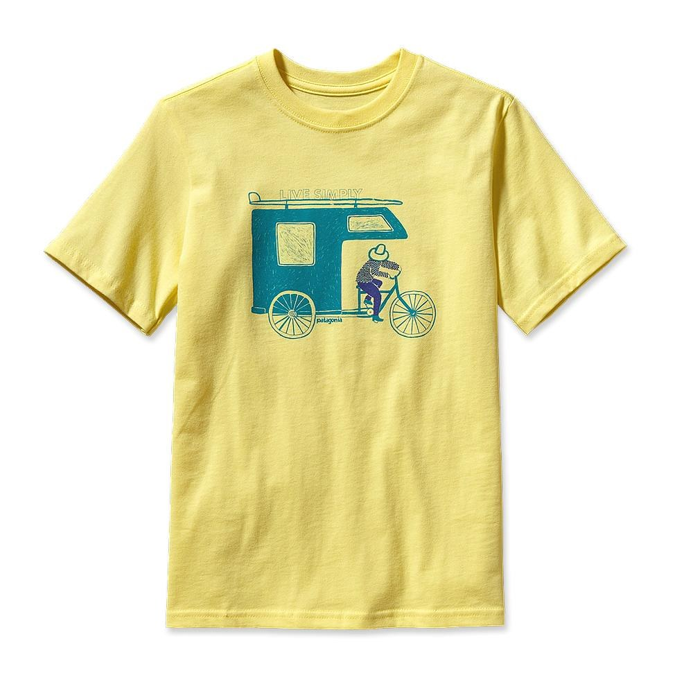 Patagonia Boy Live Simply Trailer T-Shirt Pineapple-30