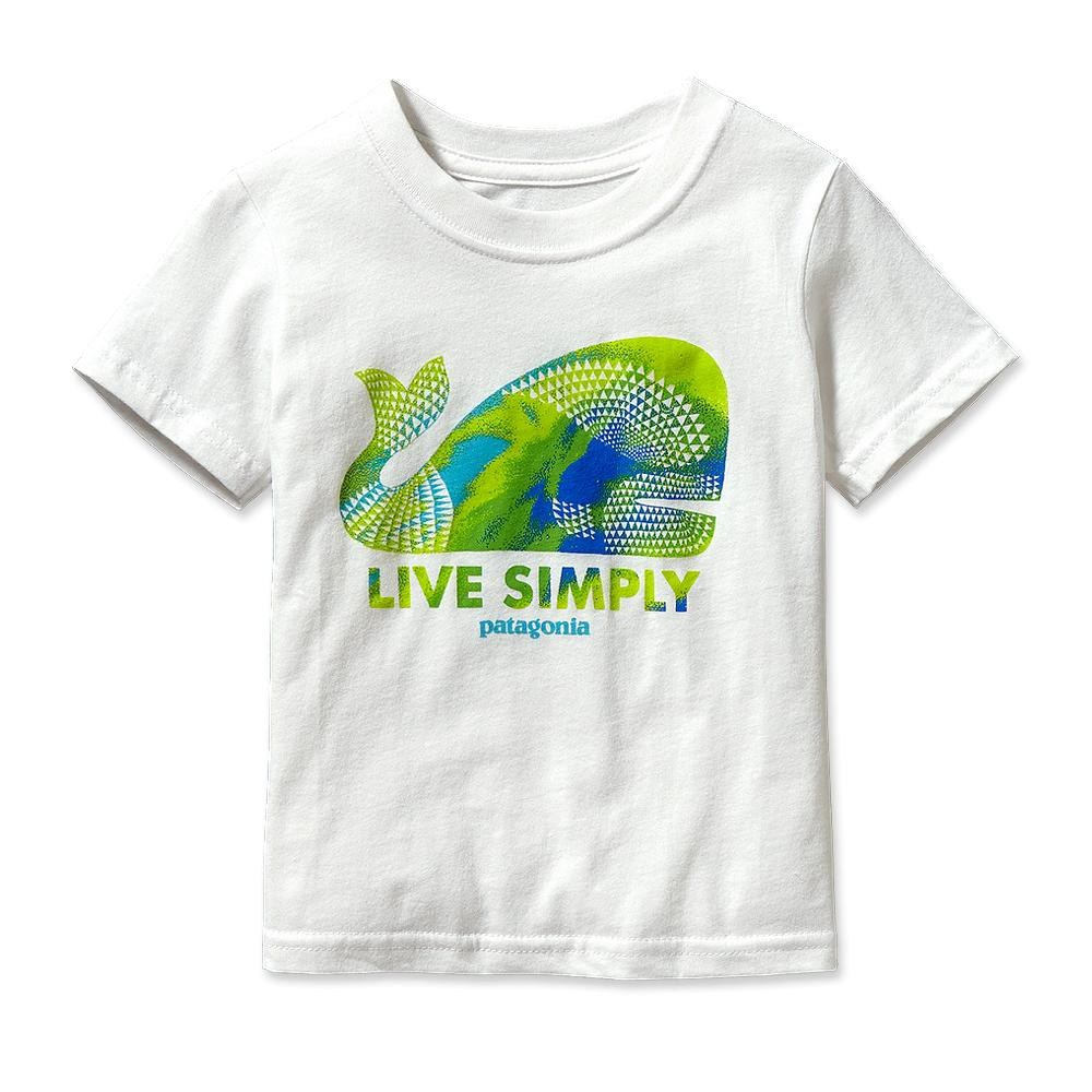 Patagonia Live Simply Geometric Whale T-Shirt White-30