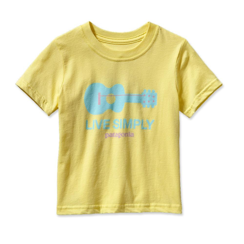 Patagonia Baby Live Simply Guitar T-Shirt Pineapple-30