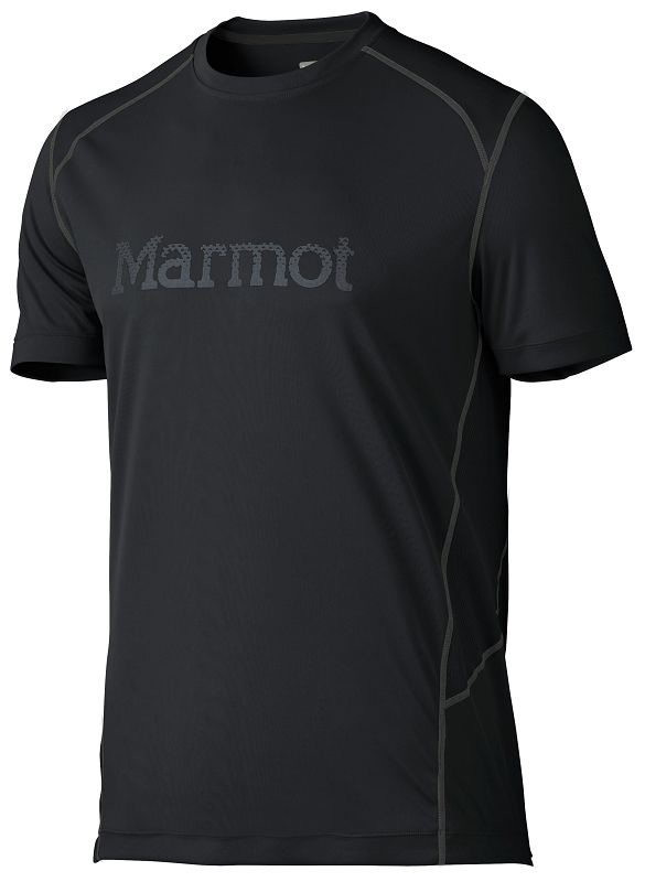 Marmot Windridge with Graphic SS Black/Cinder-30