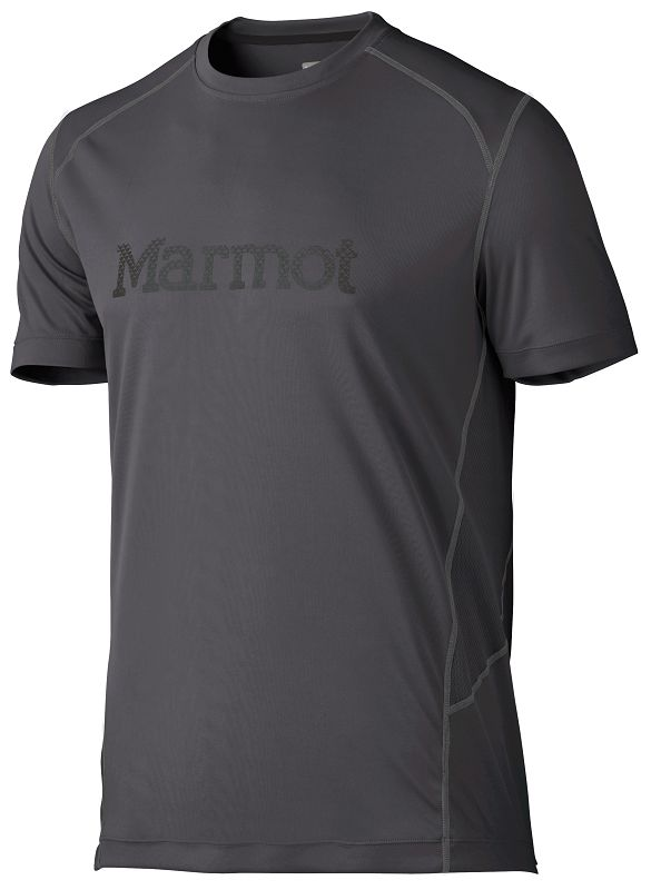 Marmot Windridge with Graphic SS Slate Grey/Black-30