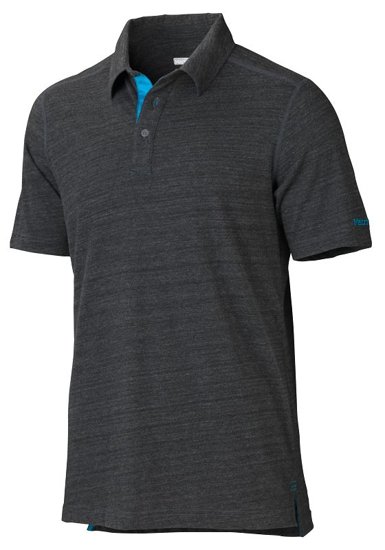 Marmot Wallace Polo SS Slate Grey-30