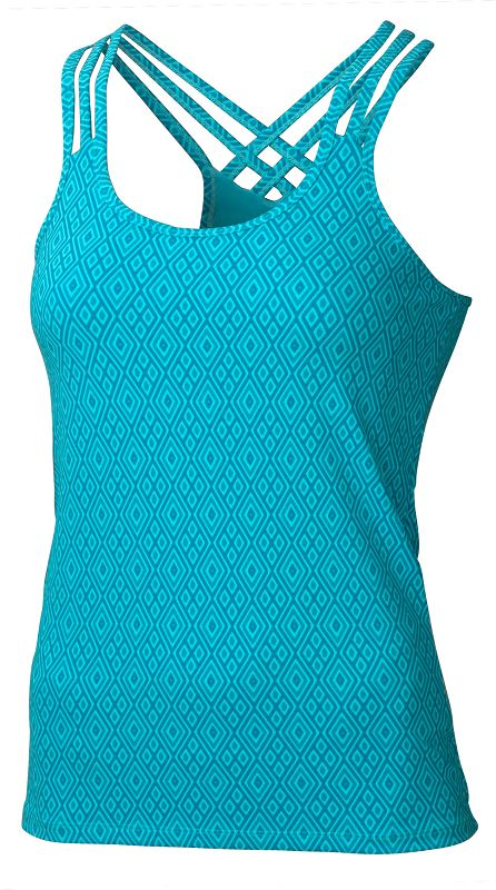Marmot Wm's Vogue Tank Sea Breeze Diamond-30