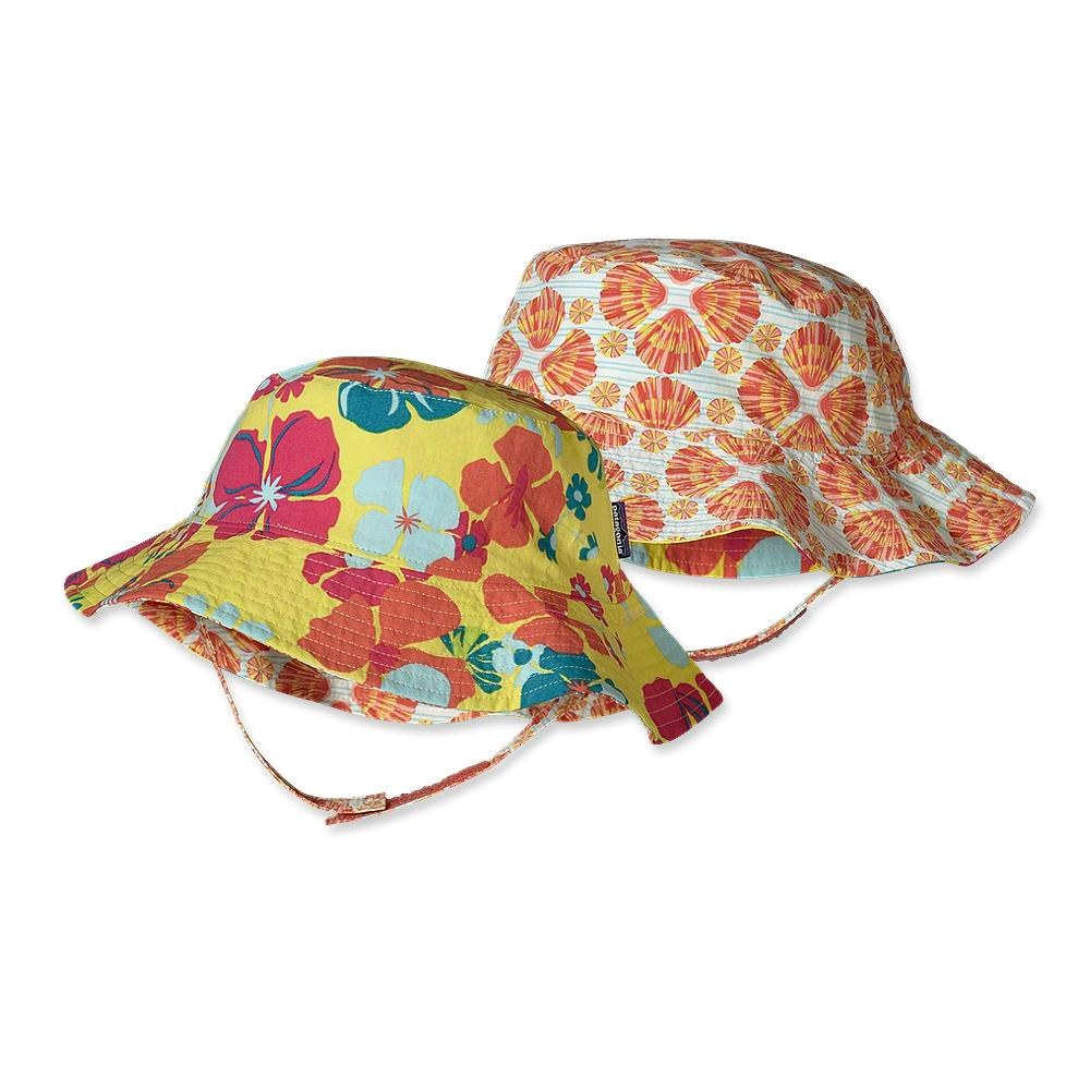 Patagonia Baby Sun Bucket Hat Native Leis: Pineapple-30