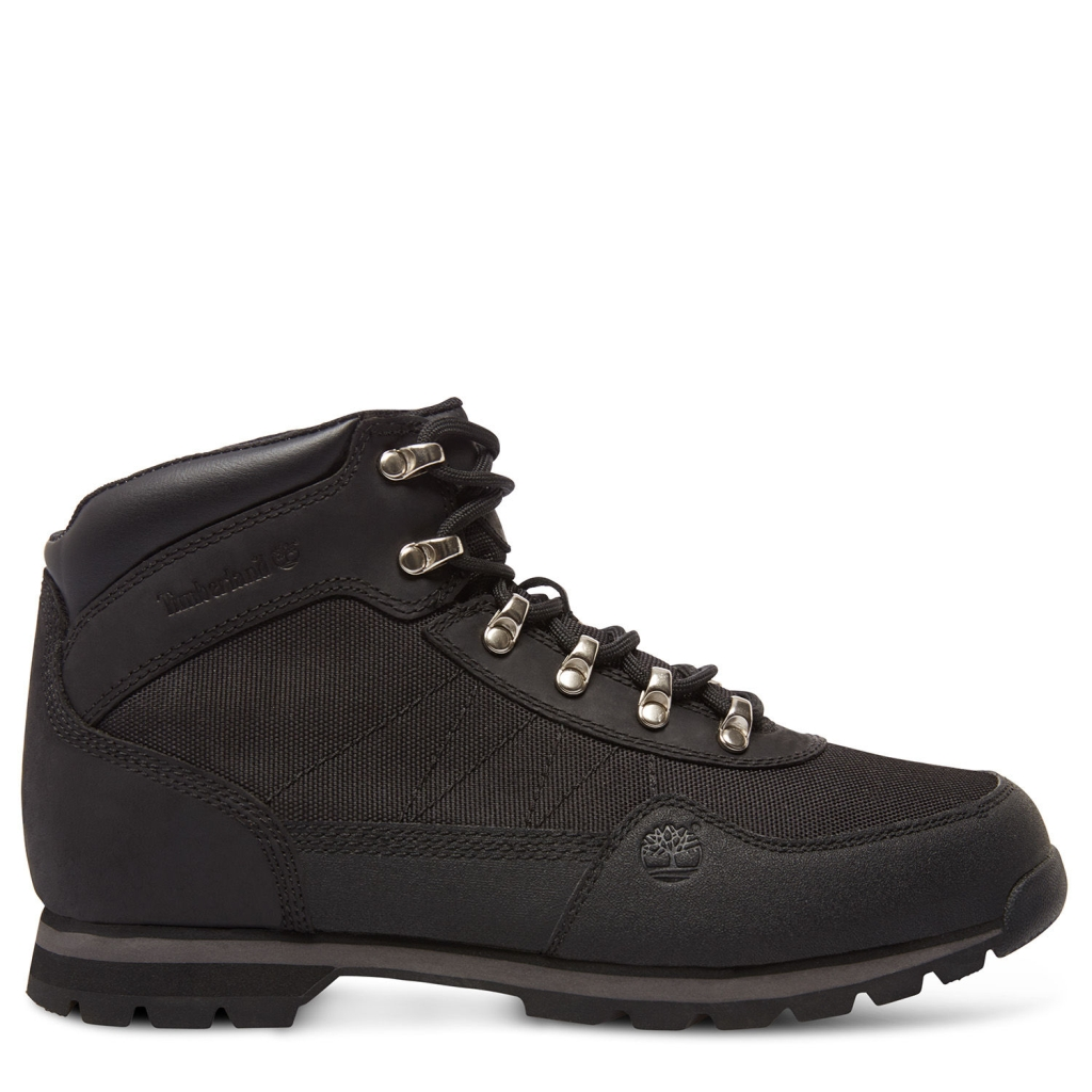 Timberland Herren Euro Hiker Mid Fabric with Leather Black-30