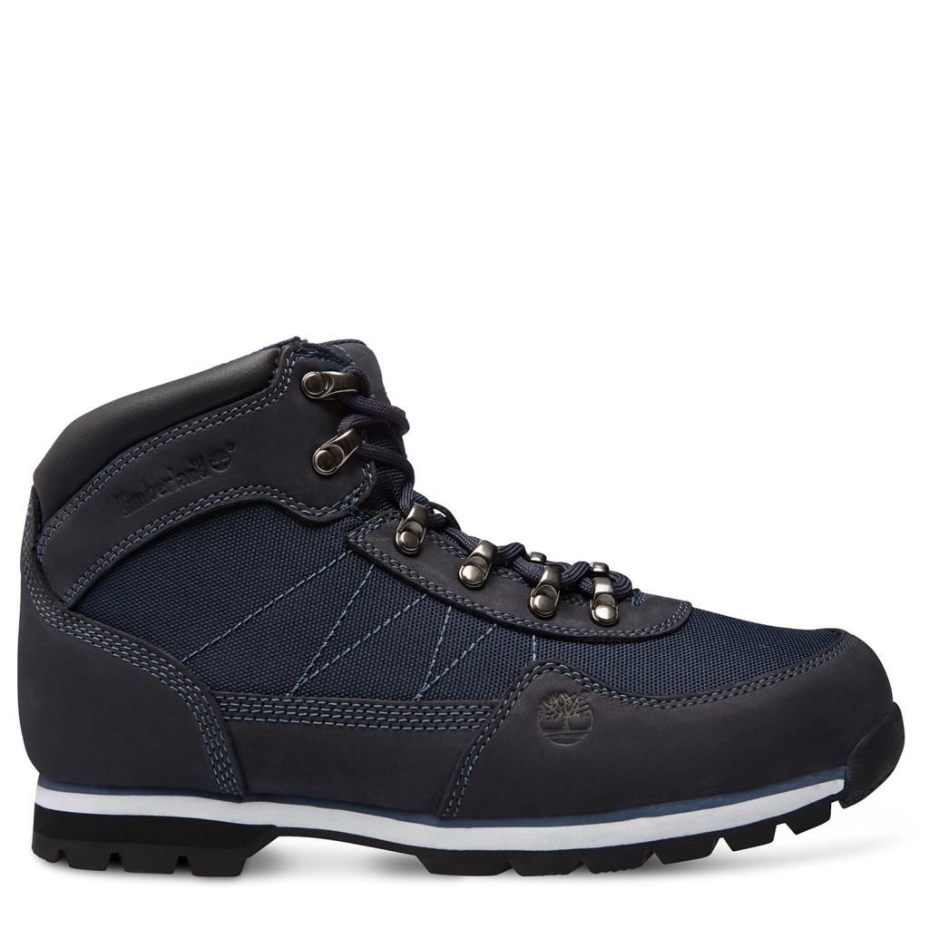 Timberland Herren Euro Hiker Mid Fabric with Leather Navy-30