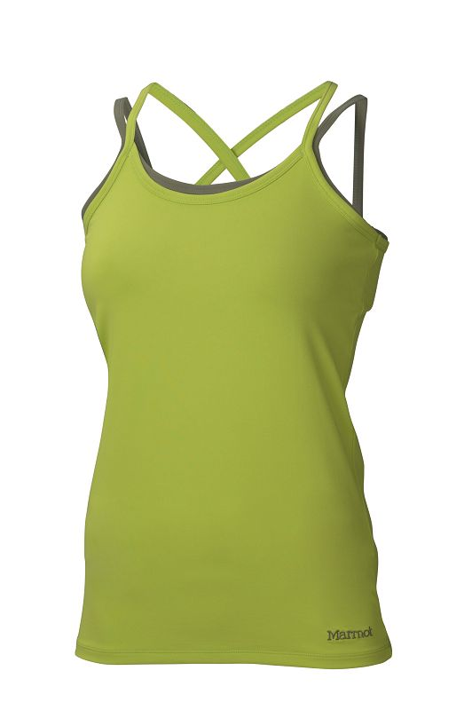 Marmot Wm's Erin Tank Acid Pepper/Stone Green-30