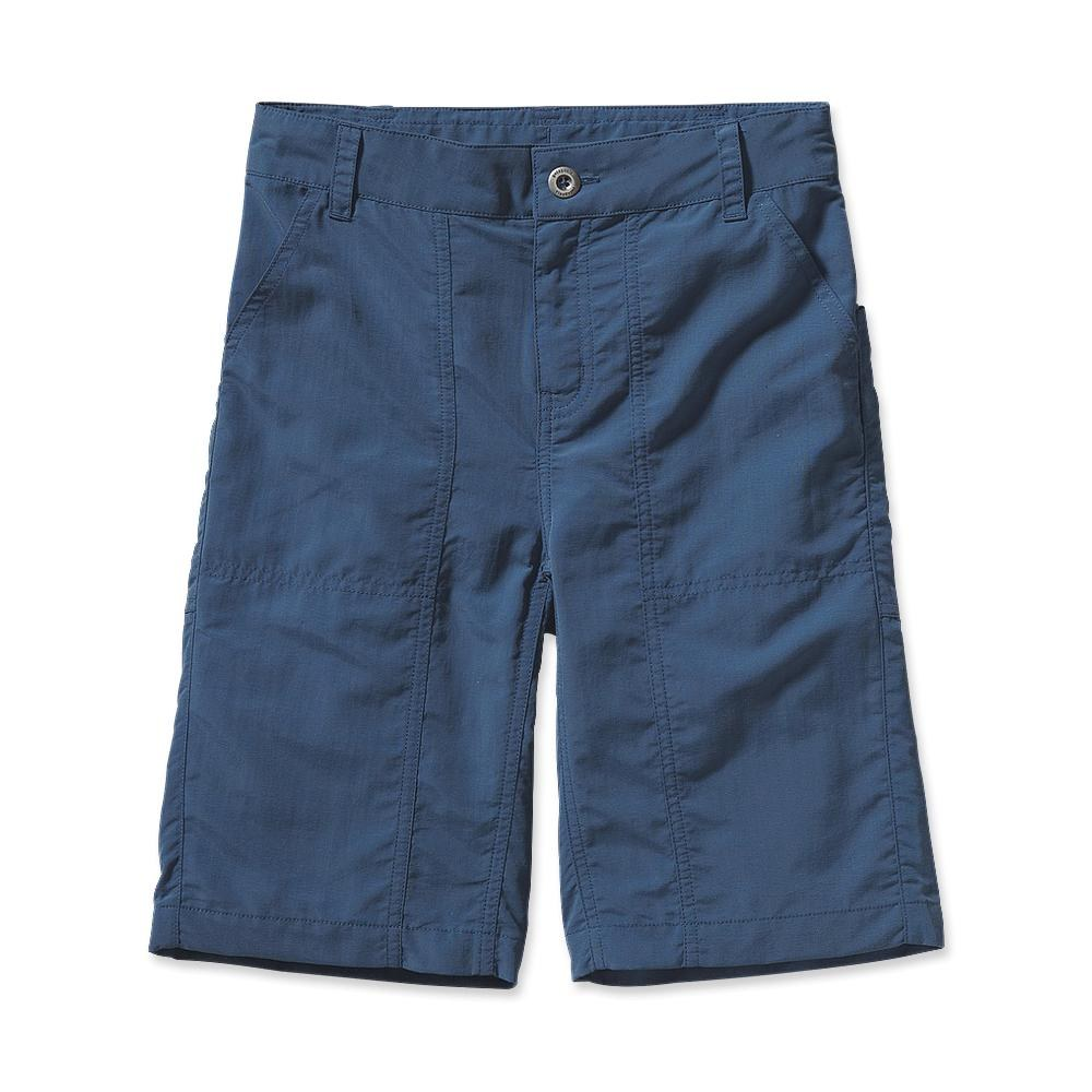 Patagonia Boys' Summit Shorts 9 Inch Glass Blue-30
