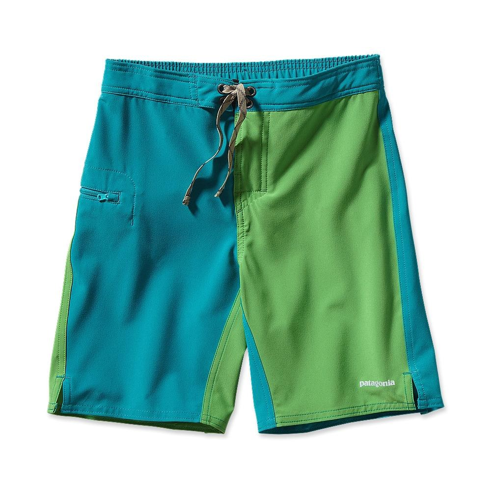 Patagonia Boy´s Merdidian Board Shorts Tobago Blue-30
