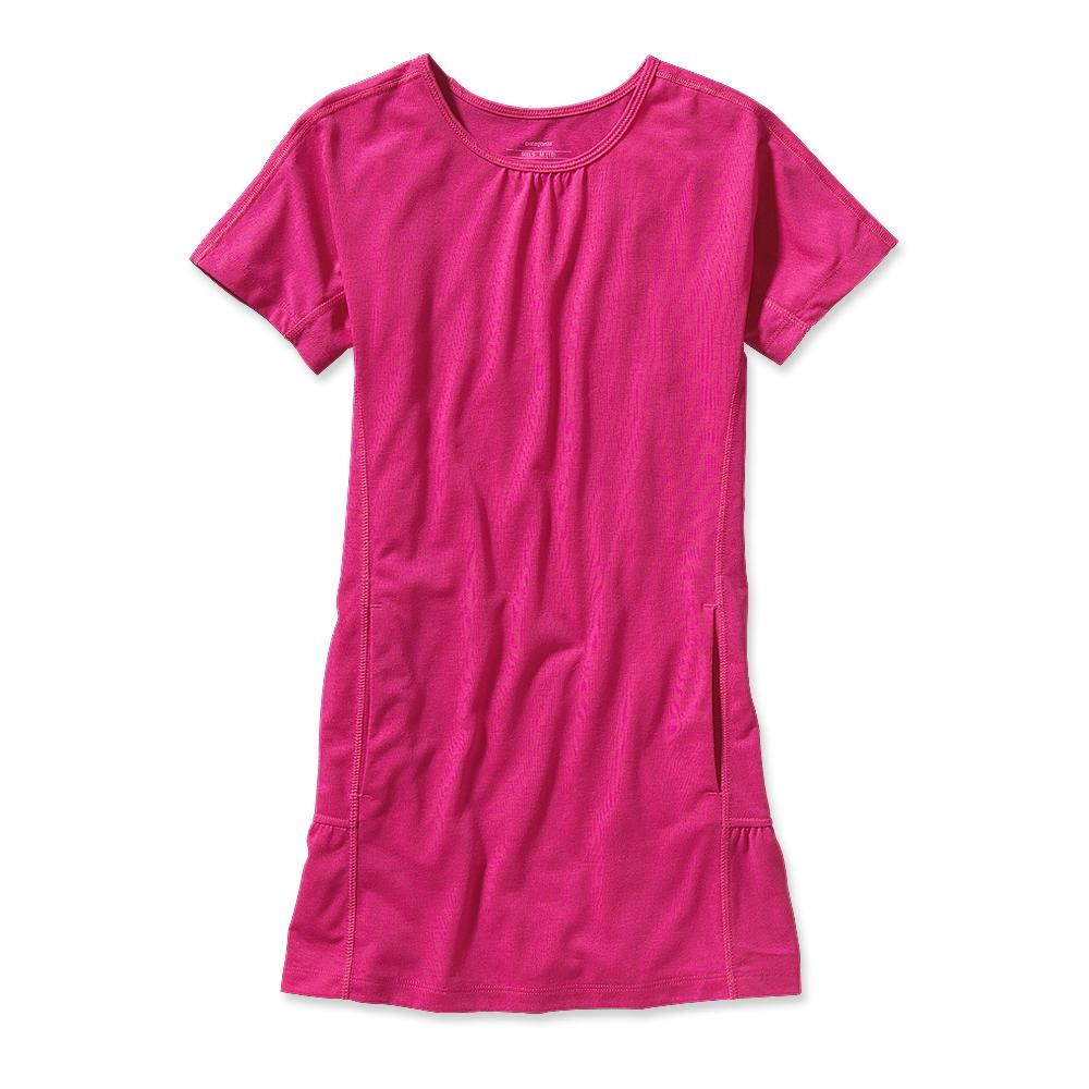 Patagonia Girl´s Cover Sun Dress Radiant Magenta-30