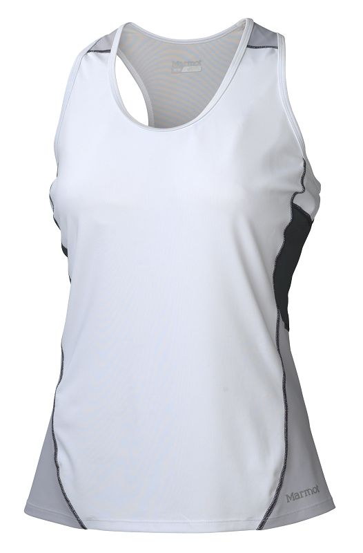Marmot Wm's Interval Tank White/Dark Steel-30