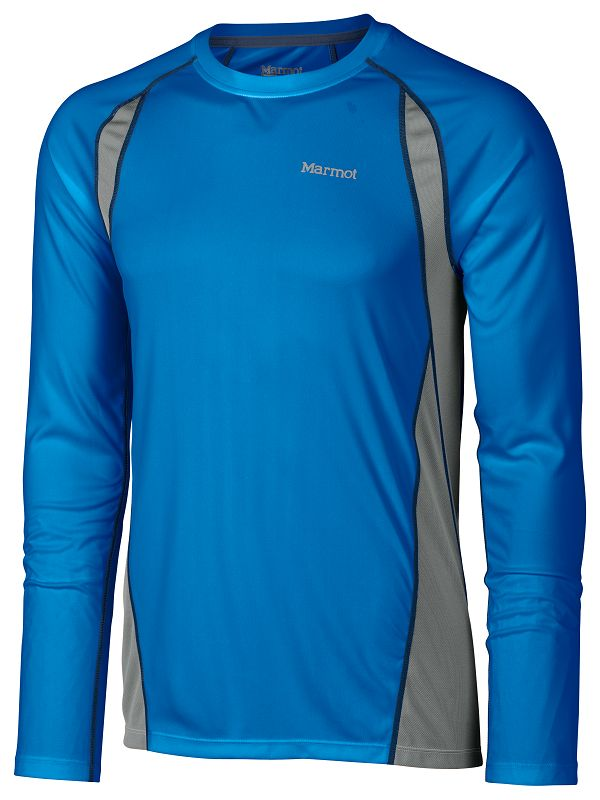 Marmot Interval LS Ceylon Blue/Steel-30