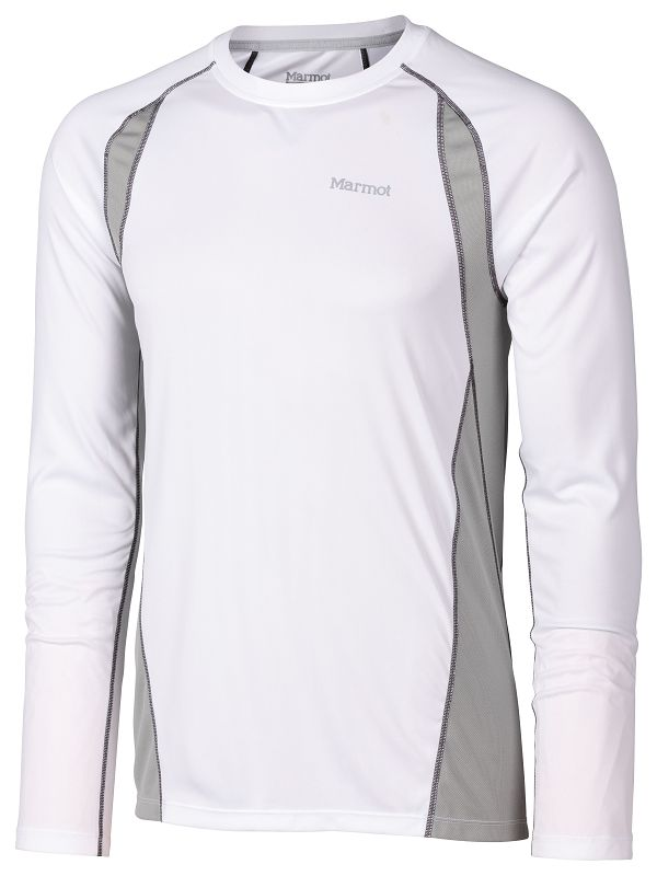 Marmot Interval LS White/Steel-30