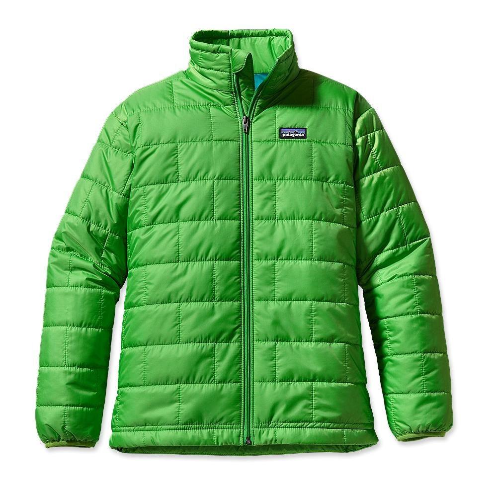 Patagonia Boy´s Nano Puff Jacket Cilantro-30