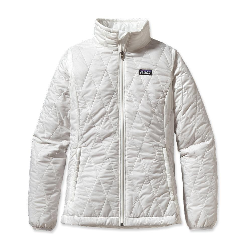 Patagonia Girl´s Nano Puff Jacket Birch White w/Birch White-30