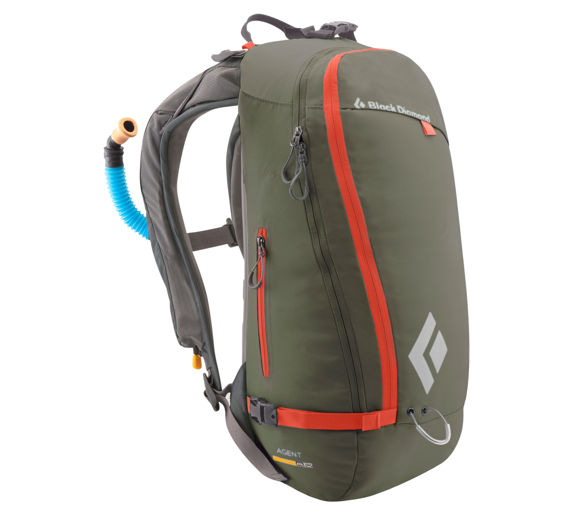 Black Diamond Agent Avalung Pack Revolution Green-30
