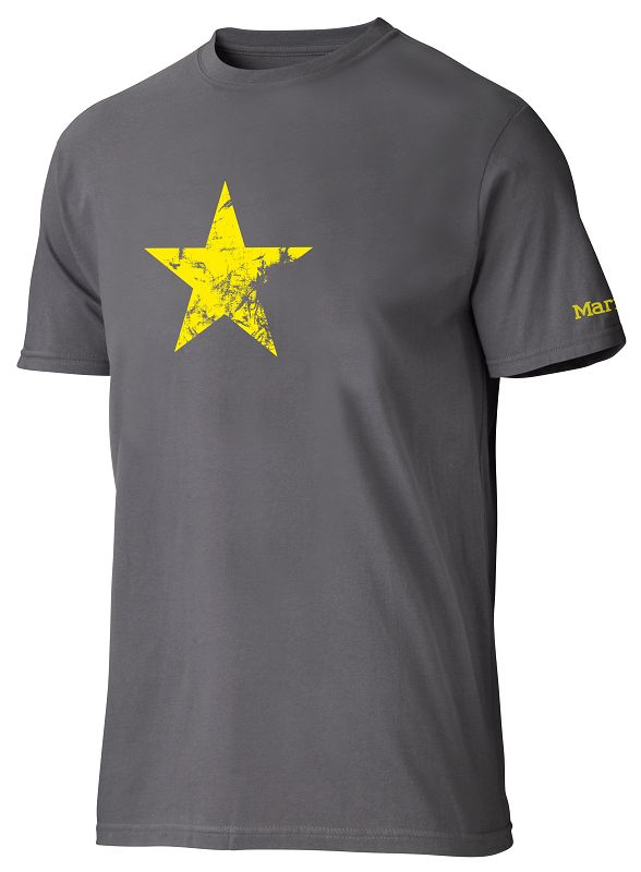 Marmot Men's Star T SS Charcoal-30