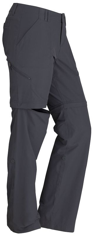 Marmot Wm's Lobo's Convertible Pant Dark Steel-30