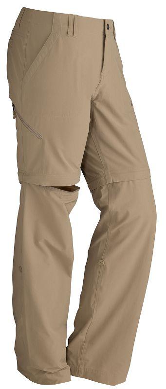 Marmot Wm's Lobo's Convertible Pant Desert Khaki-30