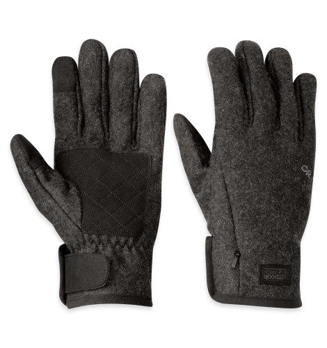 Outdoor Research Men´s Turnpoint Senor Gloves Charcoal-30