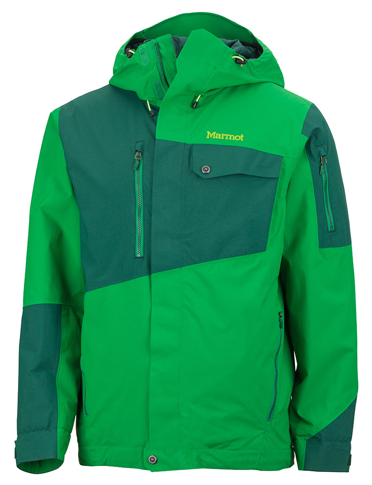 Marmot Tram Line Jacket Green Bean/Deep Forest-30