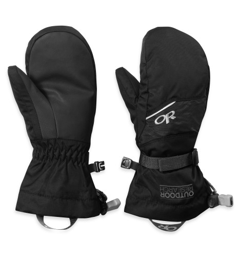 Outdoor Research Kids Adrenaline Mitts 001-BLACK-30