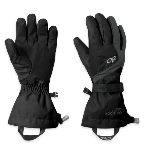 Outdoor Research - Women´s Adrenaline Gloves 001-BLACK - Gloves - M