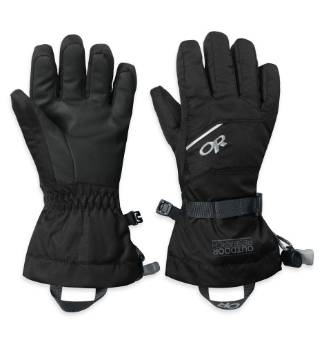 Outdoor Research Kids Adrenaline Gloves 001-BLACK-30