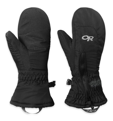 Outdoor Research Toddlers Adrenaline Mitts Black-30