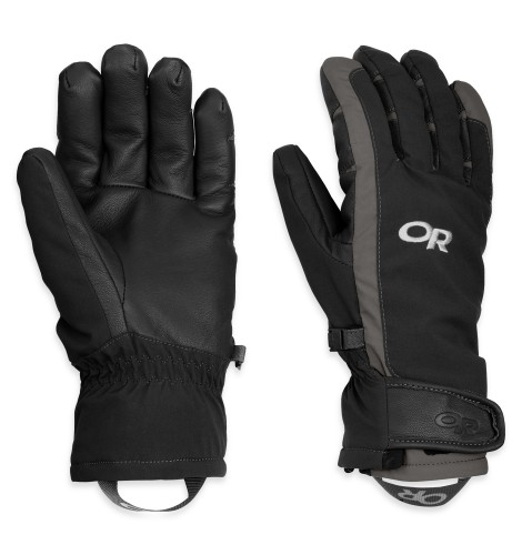 Outdoor Research Women´s ExtraVert Gloves 189-BLACK/CHARCOAL-30