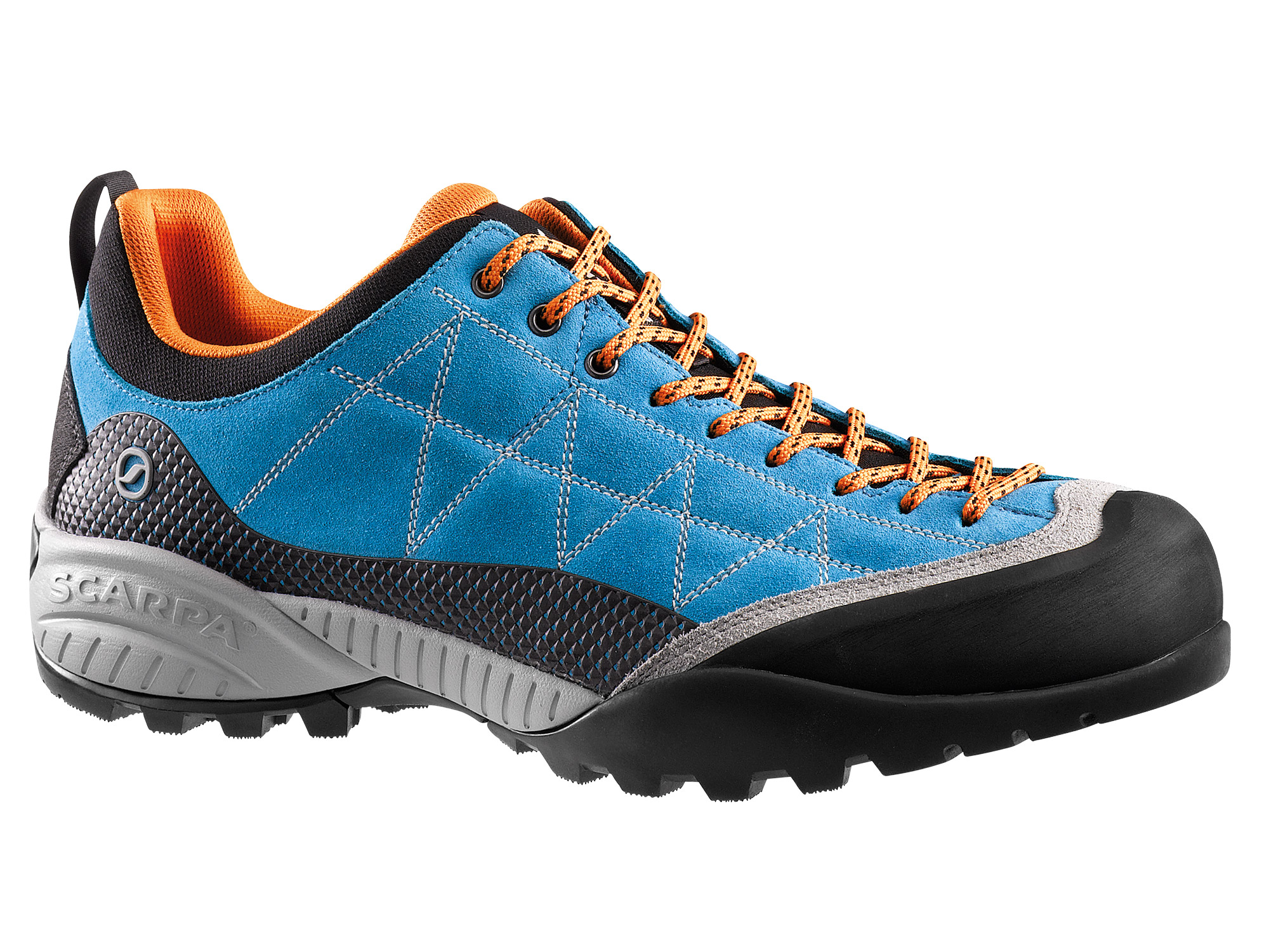 Scarpa - Zen Pro Azure-Orange - Approach Shoes - 47