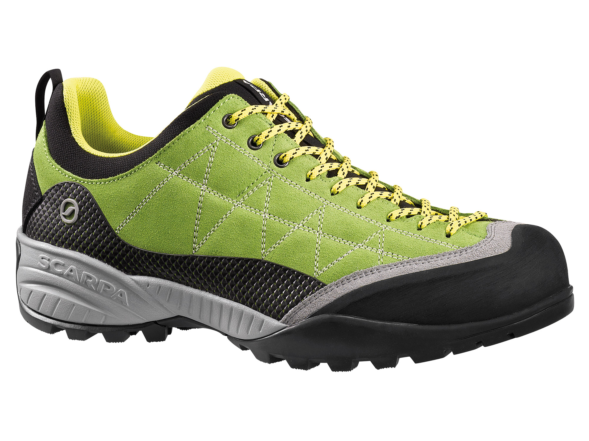 Scarpa - Zen Pro Spring-Yellow - Approach Shoes - 48