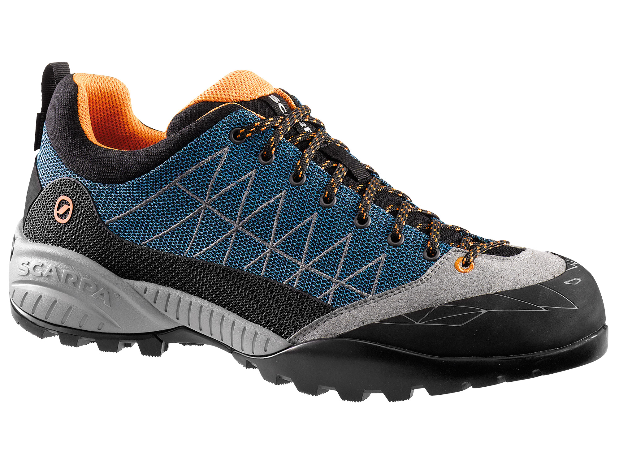 Scarpa - Zen Lite GTX Azure-Orange - Approach Shoes - 47