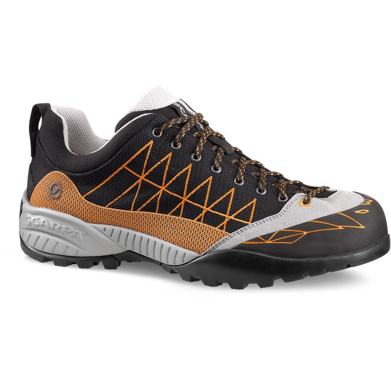 Scarpa - Zen Lite GTX Black-Orange - Approach Shoes - 46,5