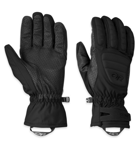 Outdoor Research Contact Gloves 001-BLACK-30
