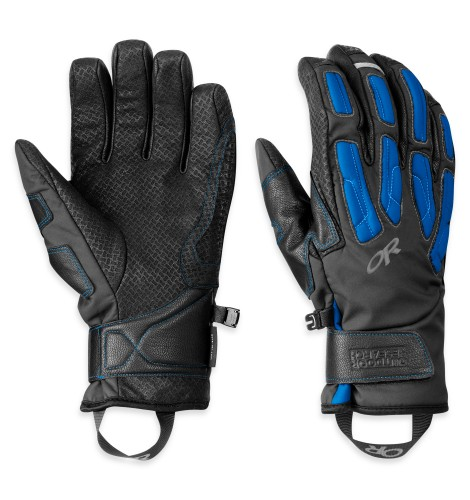 Outdoor Research Warrant Gloves Black/Glacier-30