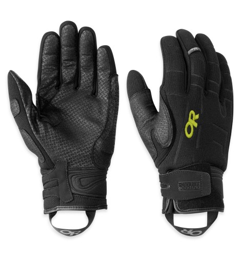 Outdoor Research Alibi II Gloves 151-BLACK/LEMONGRASS-30