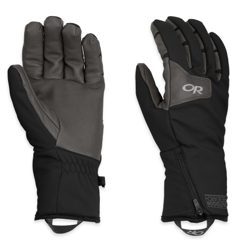 Outdoor Research Men´s Stormtracker Gloves Black/Charcoal-30