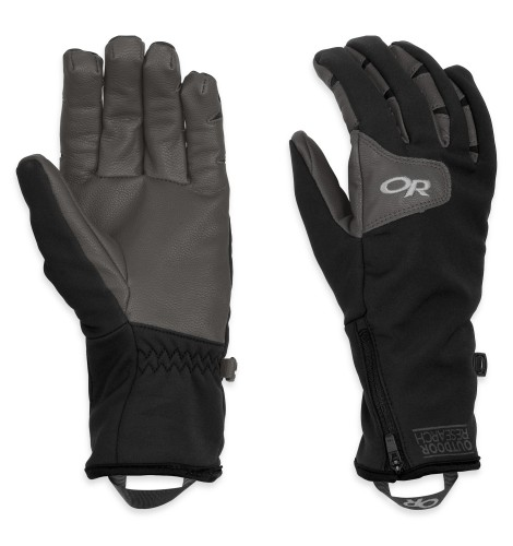 Outdoor Research Women´s Stormtracker Gloves Black/Charcoal-30