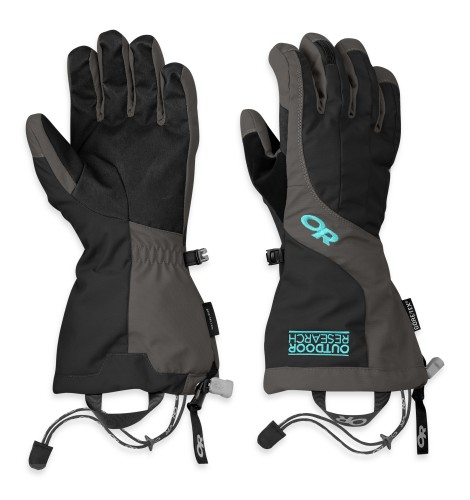 Outdoor Research Women´s Arete Gloves 189-BLACK/CHARCOAL-30