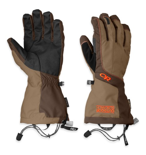 Outdoor Research Men´s Arete Gloves Cafe/Earth/Diablo-30