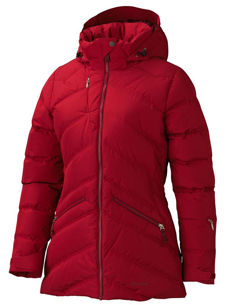 Marmot Wm's Val D'Sere Jacket Dark Raspberry-30