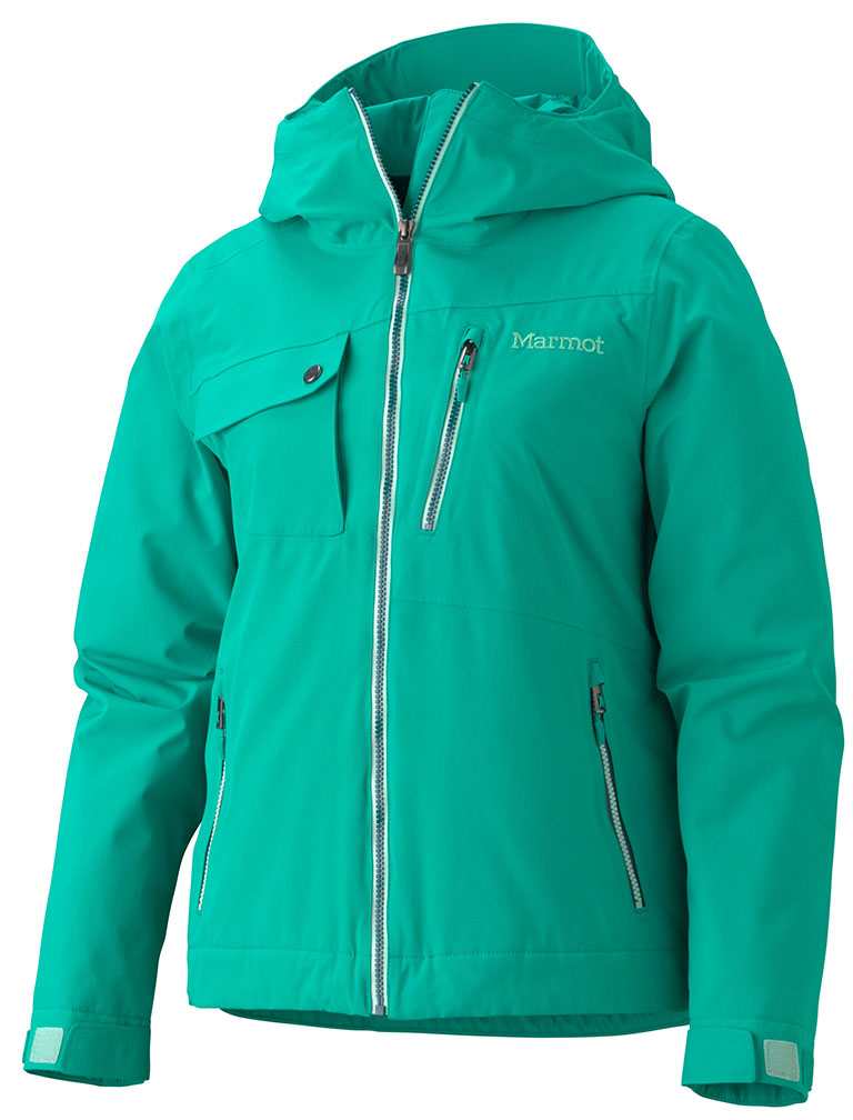 Marmot Wm's Free Skier Jacket Gem Green-30